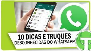 10 Dicas e truques do WhatsApp que você NÃO SABIA