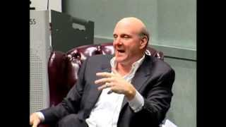 Steve Ballmer: CEO Can Not Delegate Business Culture