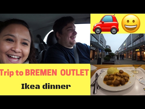 drive to bremen l bremen outlet l dinner in ikea youtube. Black Bedroom Furniture Sets. Home Design Ideas