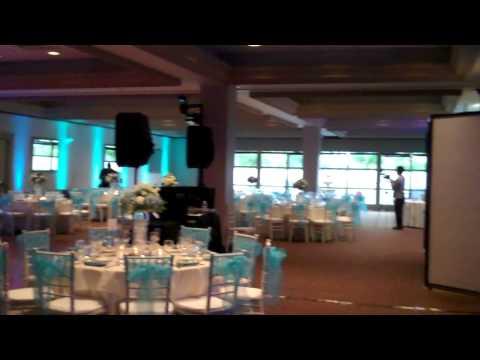 SEACLIFF Country Club Wedding DJ Gig Log In Huntington Beach W Uplighting