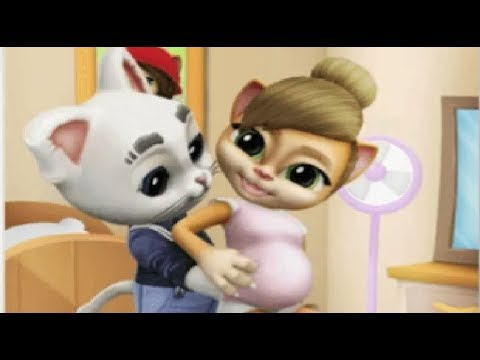 Моя Беременная Говорящая Кошка Эмма 6