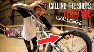BMX FLAT TYRE CHALLENGE!