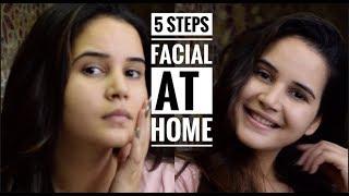 5 STEPS FACIAL AT HOME | O3+ PLUNGE USA | TAN REMOVAL FACIAL | SHIVSHAKTI SACHDEV
