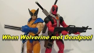 When Wolverine met Deadpool (Stop-motion Wolverine & Deadpool Fan-Film)