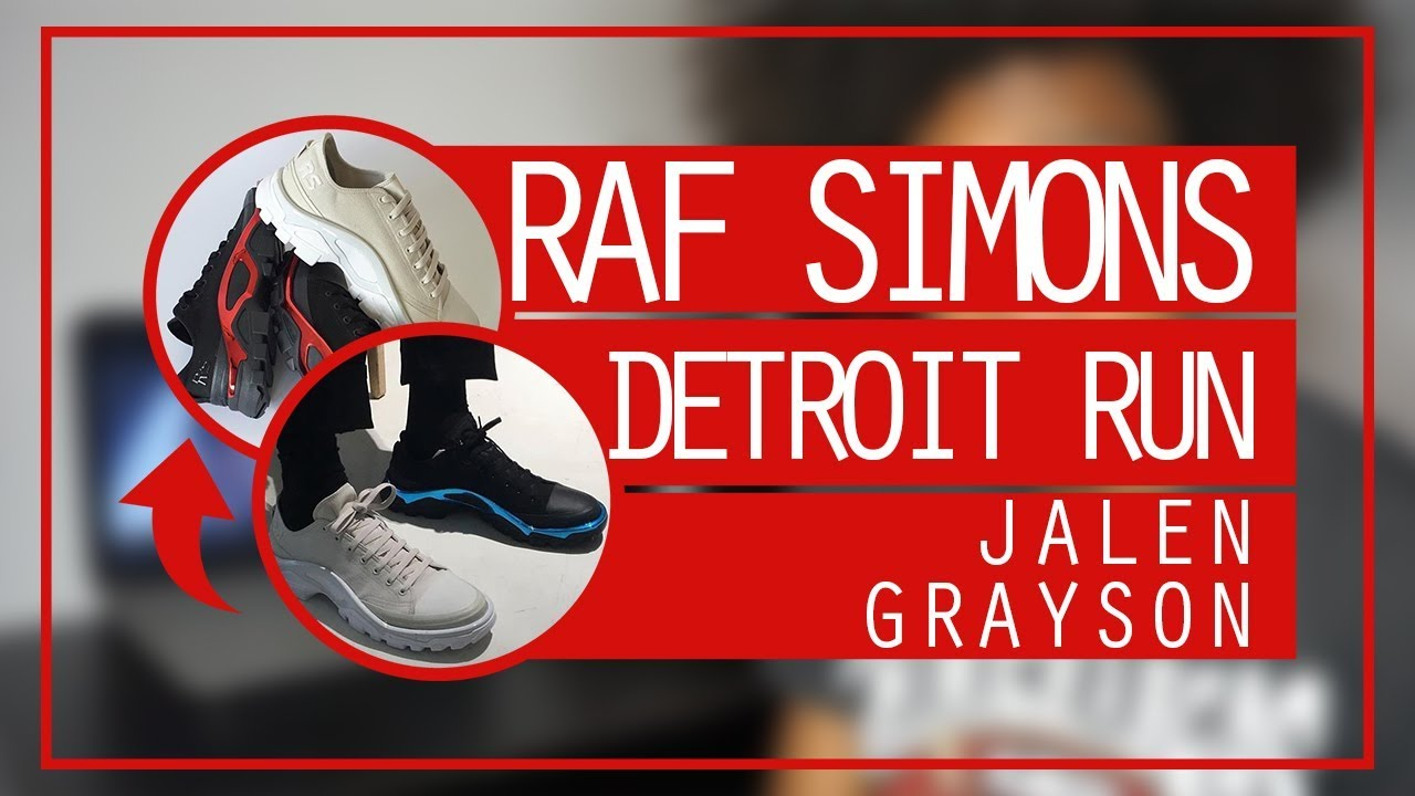 the best attitude 5f88b a6989 RAF SIMONS X ADIDAS, Detroit Runner, Raf Simons FallWinter 20172018  Jalen Grayson