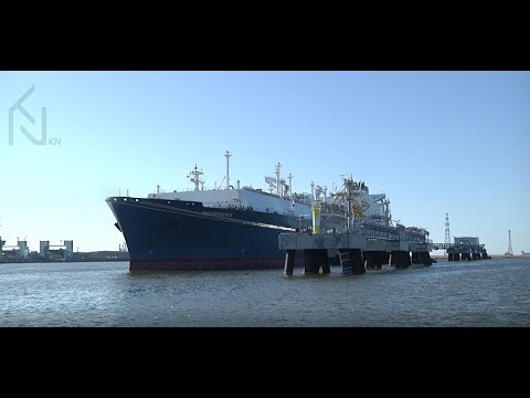 Study Engineering of Liquefied Natural Gas Terminals in Klaipeda University