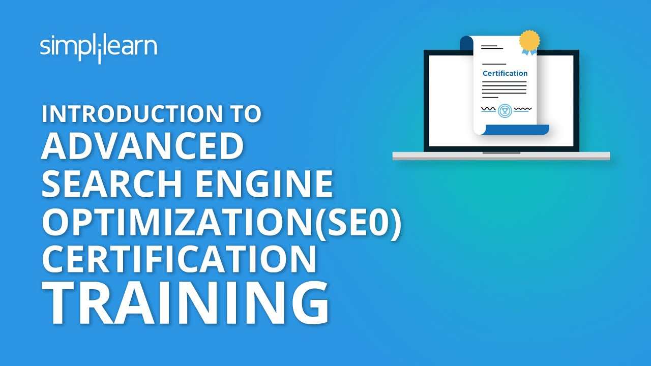 Introduction To Advanced Search Engine Optimization Seo