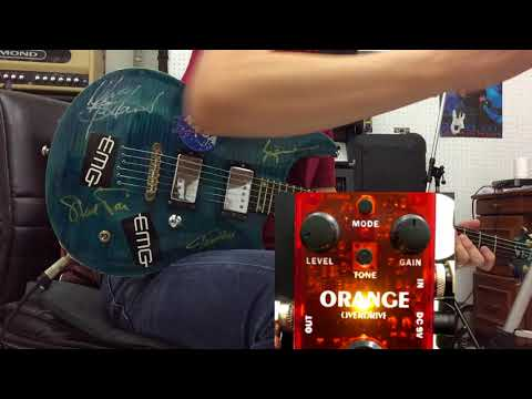 รีวิวเอฟเฟค Musiwewe Orange Overdrive Guitar Effect Pedal