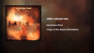 1000 colored rain