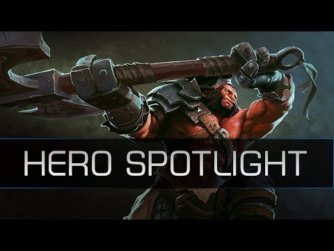 Dota 2 Remastered Hero Spotlight - Axe (OLD)