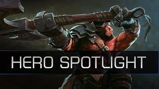 Dota 2 Remastered Spotlight - Axe