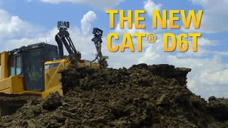 Repeat youtube video Cat® D6T Dozer   Automatically Smart, Smooth, Efficient