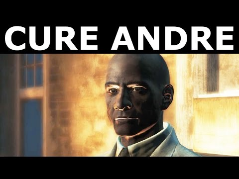 Fallout 4 Far Harbor - Cure Andre Michaud With Mysterious Serum