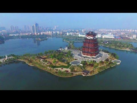 Hubei Tianmen's spring scenery