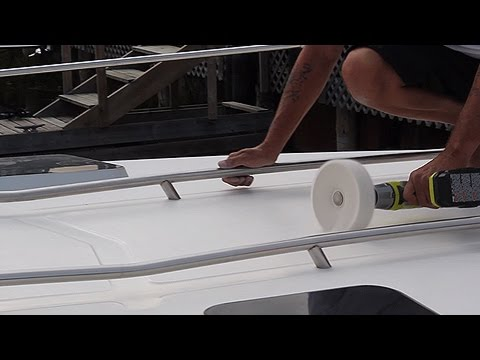 Keep Your Non-Skid Decks Clean and Shiny. Never Scrub Them Again!