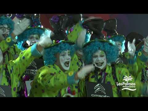 Primera fase del concurso de murgas del Carnaval de Las Palmas de Gran Canaria