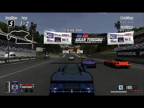 Gran Turismo 4 - Nissan R390 GT1 Road Car 98 Hybrid Cockpit View PS2 Gameplay HD