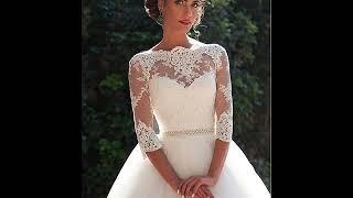 vestido de noiva princesa elegante em renda