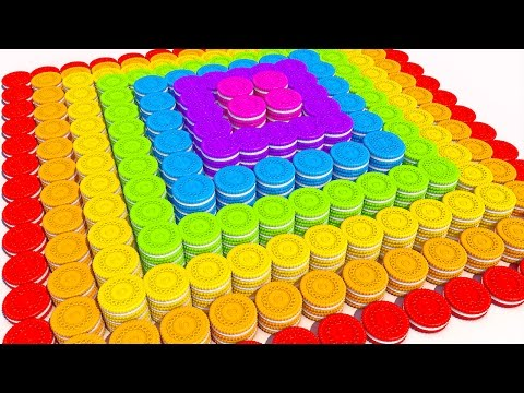 Thumbnail: Learn Colors with 3D Cookies Pyramid