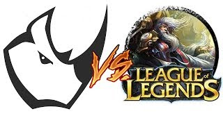 Coś mi utknęło w oku i Morgana jungle - Team Rhino vs League of Legends