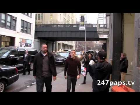 One Direction arriving for Rehearsals in Downtown NYC (12-05-12)