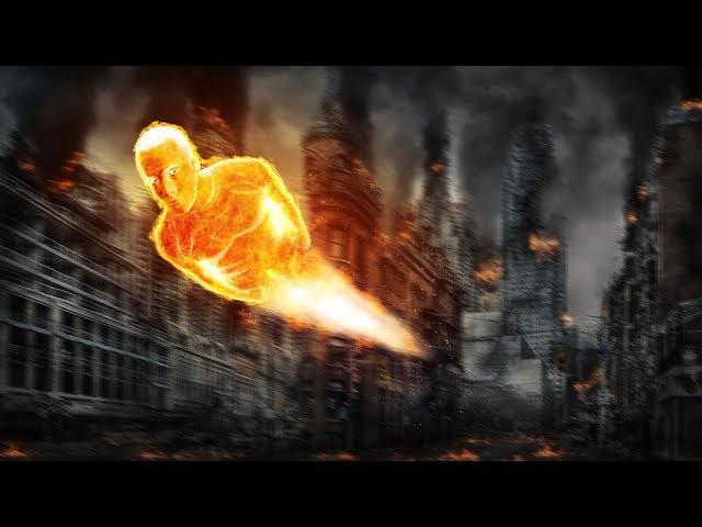 Human Torch Effect | Photoshop Tutorial