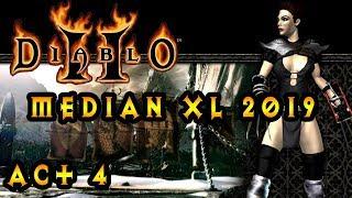 Diablo 2 Median Xl Sigma 2019 Act 4 As Fire Poison Assassin  :  Diablo Boss Fight Act 4 End