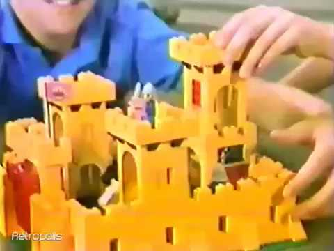 1982 Lego Castle Toy Commercial Youtube