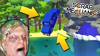 ЗИНКА УТОПИЛА НОВЕНЬКУЮ ШЕСТЁРКУ В ОЗЕРЕ !!! МУЛЬТИК в Scrap Mechanic !!!