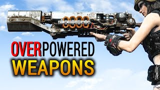 Fallout 4 Rare Weapons Top 5 Overpowered Weapons