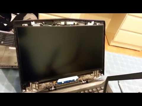 Laptop Screen Replacement / How To Replace Laptop Screen For The Alienware 14