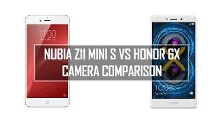 Nubia Z11 Mini S vs Honor 6X- Camera Comparison
