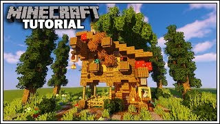 Minecraft Rustic Fantasy House Tutorial YouTube