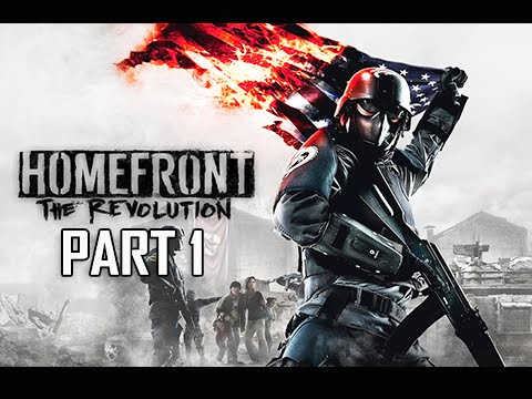 Homefront The Revolution Walkthrough Part 1 - The Voice of Freedom (PC Ultra Let's Play Commentary)