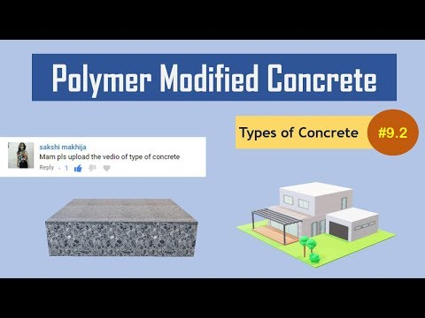 What is Polymer Modified Concrete?    Polymer Cement Concrete    Types of Concrete #9.2