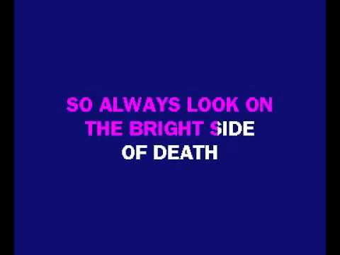 Always look on the bright side of life   Karaoke