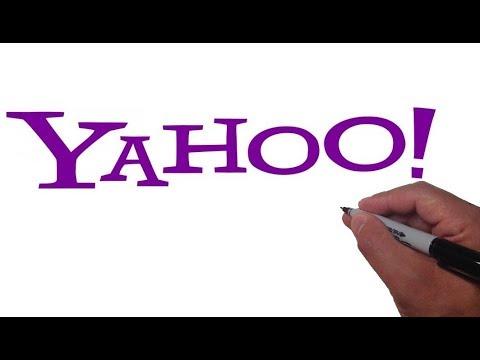 How to Draw the YAHOO logo
