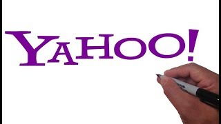 How to Draw the YAHOO logo