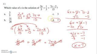 Grade 8 CR #34 Final Exam Review 2