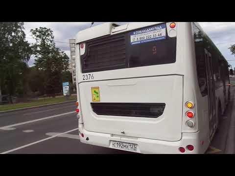 Автобус Санкт-Петербурга 9-427: ЛиАЗ-5292.30 б.2376 по №9 (04.06.19)