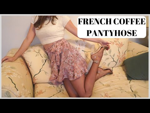 BERKSHIRE SHEER FRENCH COFFEE PANTYHOSE REVIEW!