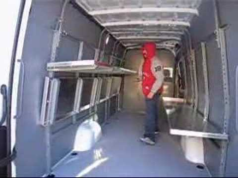 Taylor Ready System For Sprinter Vans Youtube