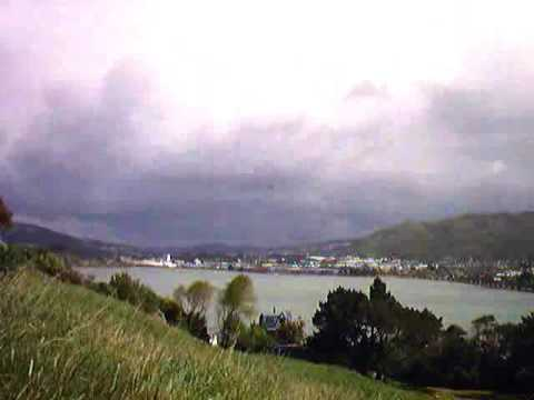 southerly front porirua harbour, new zealand