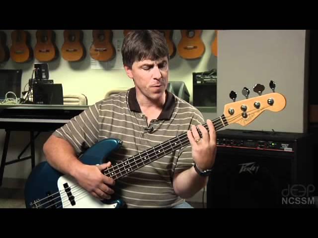 Jazz Bass Lesson 1: Bass Basics