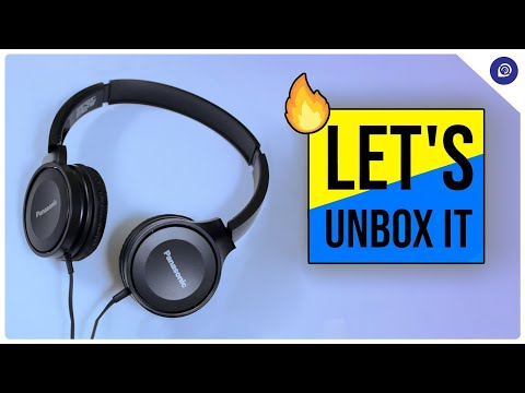 BEST Budget HEADPHONE for Mobile GAMING   Panasonic Headphones Review! (2019)