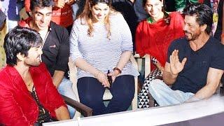 Shahrukh Khan VISITS Ram Charan On The Sets Of BRUCE LEE