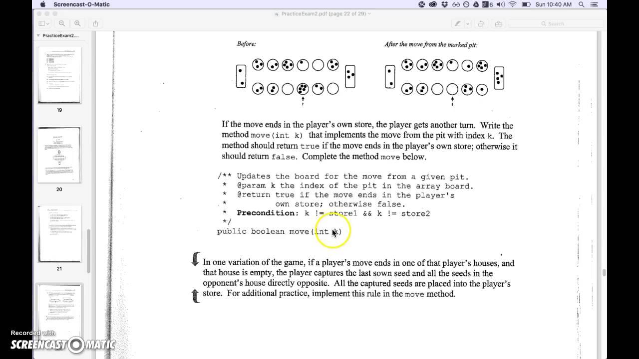 ap computer science practice test pdf