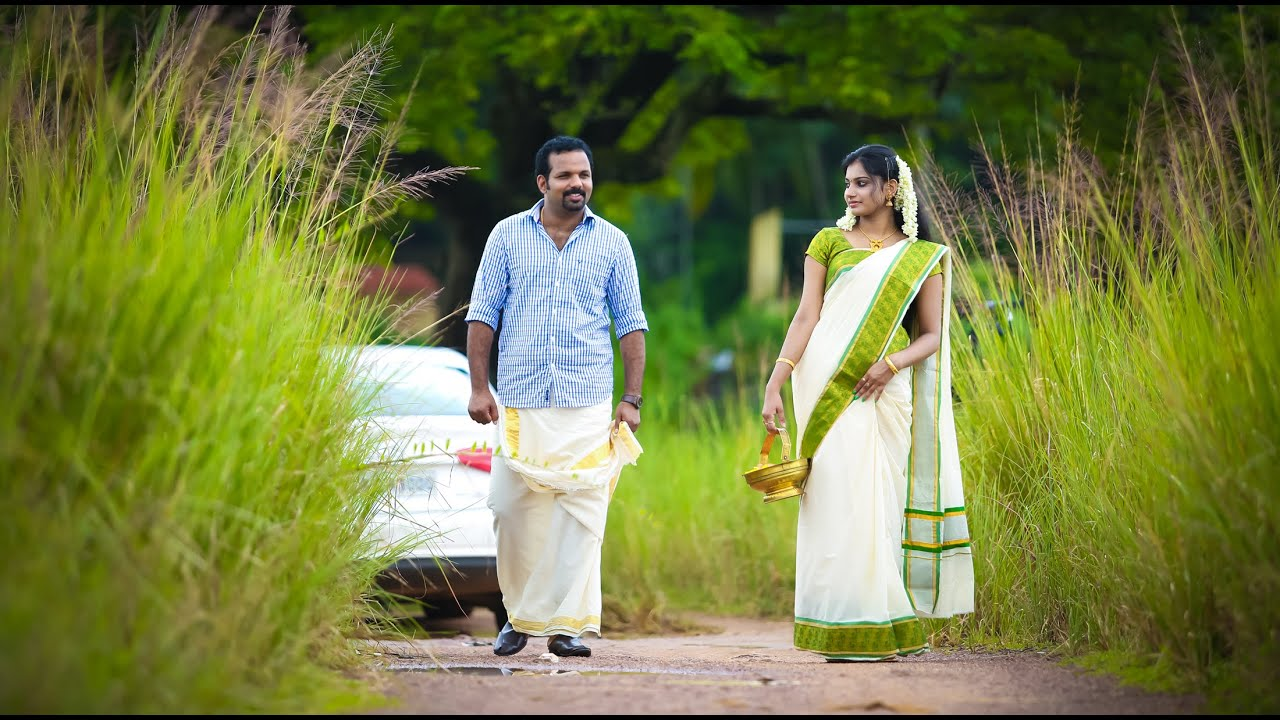 A Hindu Fusion Kerala Wedding Youtube