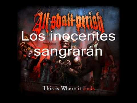 Клип All Shall Perish - Nobleza En Exilio