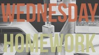 Wednesday Homework (Chill Jazz Hip Hop Music)